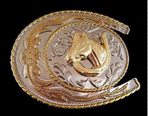 Sales results No. 1 Horseshoe Horse Cheap sale Head Equestrian Belt Buckles Buckle Western