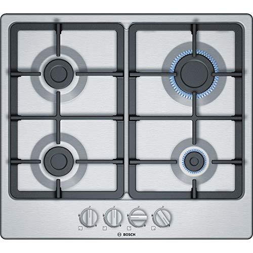 Plaque gaz Bosch PGP6B5B90 - Plaque de cuisson 4 foyers