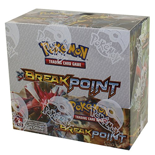 Pokemon XY BREAKpoint Booster Box TCG Card Game New Sealed 36 packs