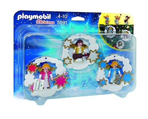 PLAYMOBIL Navidad: Pack Adornos de de ángel
