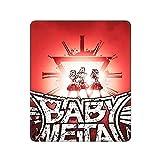 Babymetal ベビーメタ マウスパッド防水ゲーミングマウスパッド30 * 25cmキーボードパッド滑り止めラバーボトム滑り止めマウスは、快適な操作のための耐洗い面と互換性があります