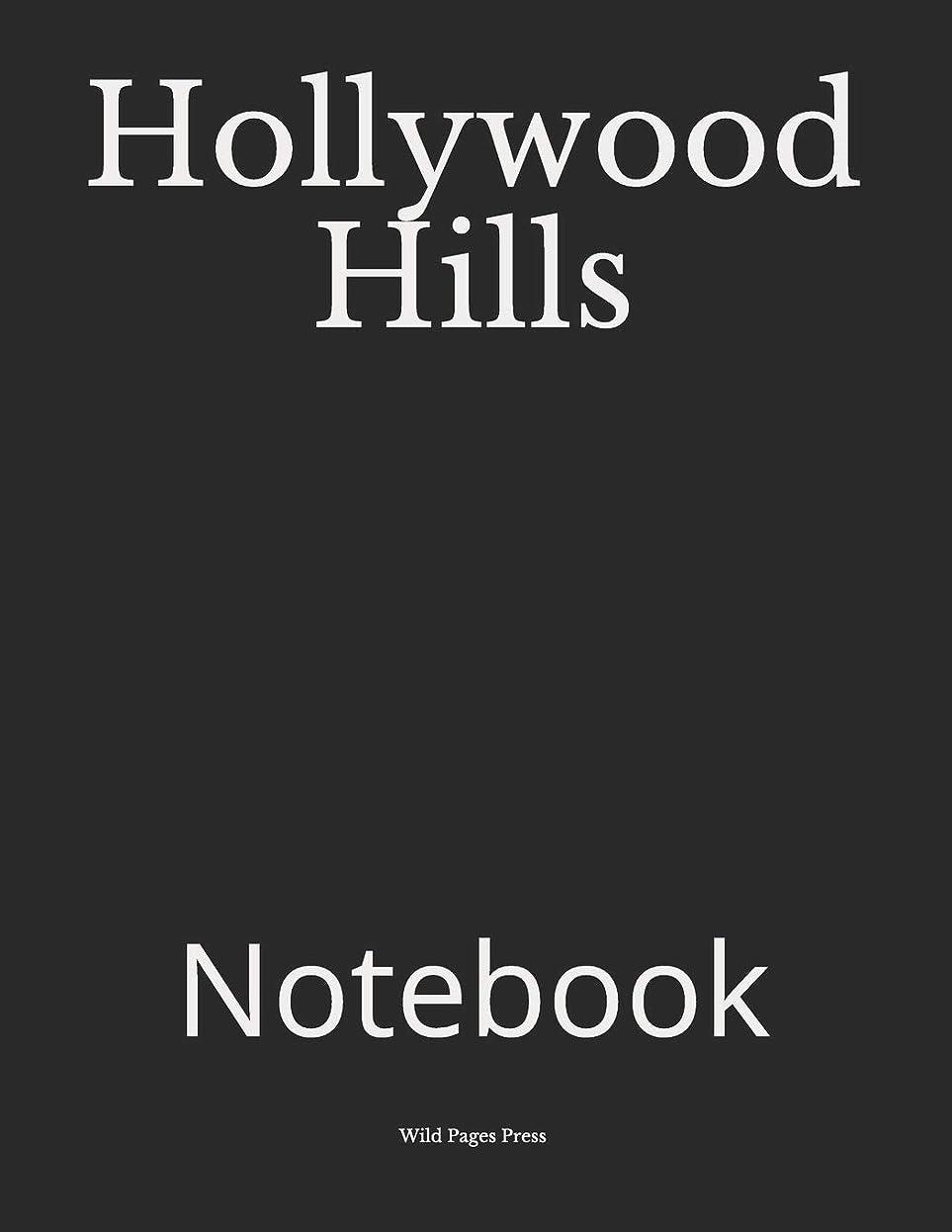 定数医薬活気づくHollywood Hills: Notebook
