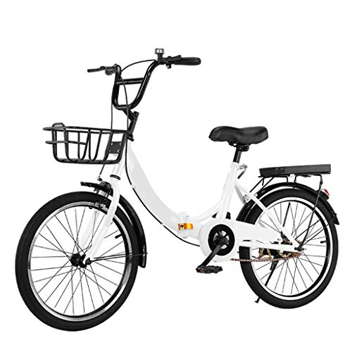 20in / 22in / 24in Cambio De Aluminio Bicicleta Plegable, Ligero Marco De Aluminio De La Bicicleta, Bicicleta De Montaña Marco De Acero De Engranajes For Mujer Bicicleta ( Color : C , Size : 22 in )