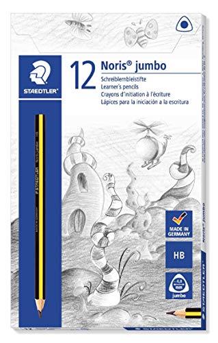 Noris Club Jumbo de Aprendizaje Lápiz HB (Pack de 12)