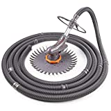 TACKLIFE Suction Pool Cleaner, Quiet Automatic Pool Vacuum with 32ft Hose...