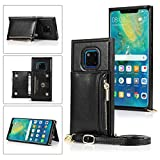 Huawei Mate 20 Pro Case, Gift_Source Crossbody Wallet Phone