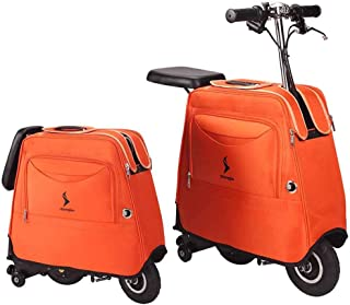 Electric Smart Luggage/Scooter,30L Large Capacity Storage Case,8ALithium Battery,Foldable Outdoor Scooters for Men Women