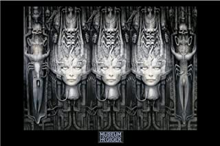 HR GIGER - LI II Gothic Art PAPER POSTER measures 36 x 24 inches (91.5 x 61cm)