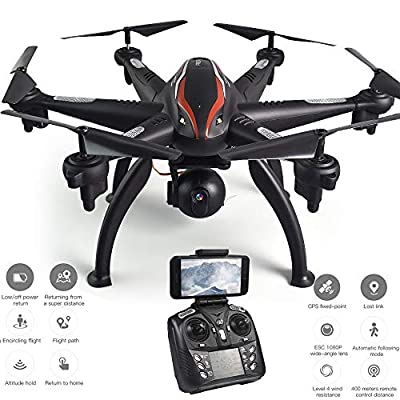 MBEN Professional drones and cameras, 5G 110° wide-angle 1080P FPV Wifi gps positioning ESC camera six-axis drone, drone with camera for adults for beginners