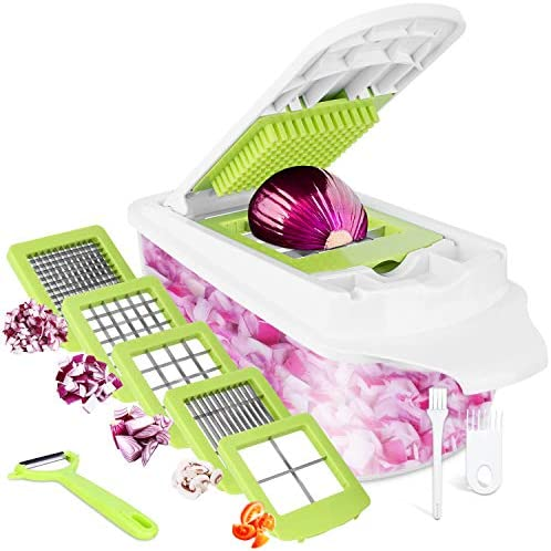 Vegetable Chopper Veggie Chopper 12 in 1 Sedhoom Food Choppers and Dicers Hand Onion Chopper product image