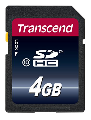 Transcend Premium SDHC 4 GB (bis 20MB/s lesen)