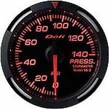 Defi DF06602 Racer Fuel/Oil Pressure Gauge, Red, 52mm
