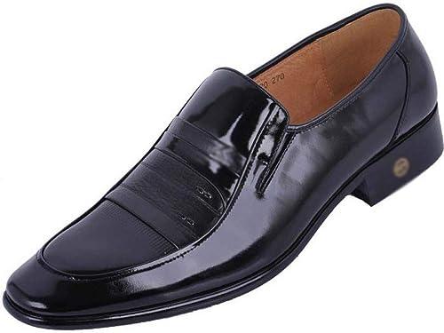 LYZGF Hommes GentleHommes Affaires Occasionnels De De De Mode De Mariage Chaussures en Cuir add