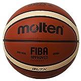 モルテン バスケットボール 7号ボール Bリーグ試合球 BGL7X-BL メンズ 7号球 オレンジxアイボリー