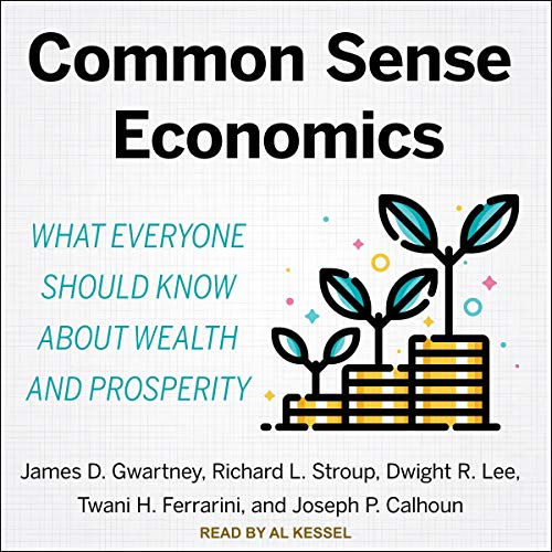 Common Sense Economics audiobook cover art