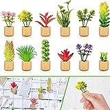 12 Pieces Mini Artificial Succulent Plants...