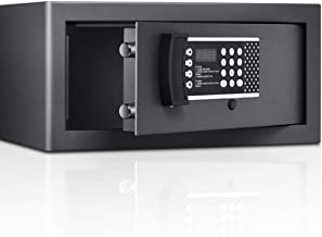 LLRYN Electronic Digital Security Safe Box, Solid Steel Construction Hidden for Home Office Hotel Business
