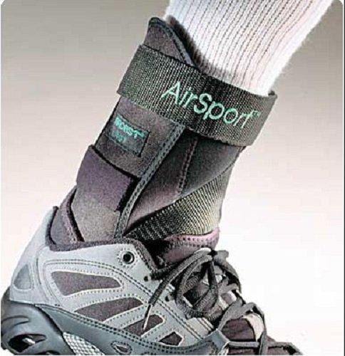 Aircast Airsport Knöchelbandage für Sportler und nicht nur (Größe XL links)