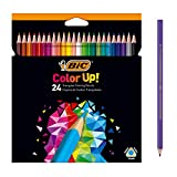 BIC Color Up lápices de colores surtidos, blíster de 24 unidades