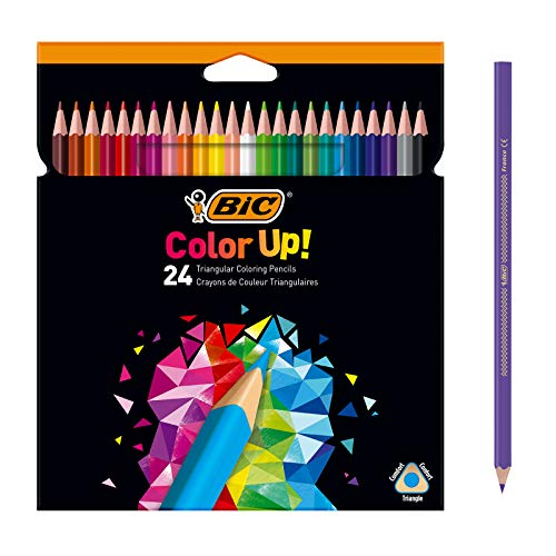BIC Color Up lápices de colores surtidos, blíster de 24 unidades (950528)