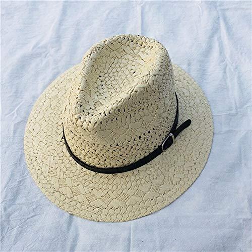 ZXL Hoed hol strohoed stroh Cowboy hoed Western Beach vilt Sunhats Party Cap voor mannen vrouwen 4 kleuren zomer Jazz strohoed kaki