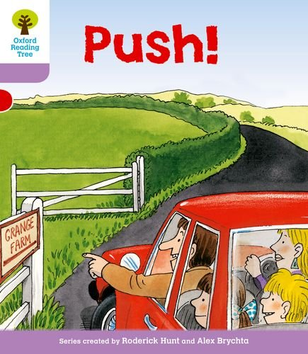 Oxford Reading Tree: Level 1+: Patterned Stories: Push!の詳細を見る