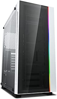 DEEPCOOL MATREXX 55 V3 ADD-RGB White Mid Tower Tempered Glass PC Gaming Case