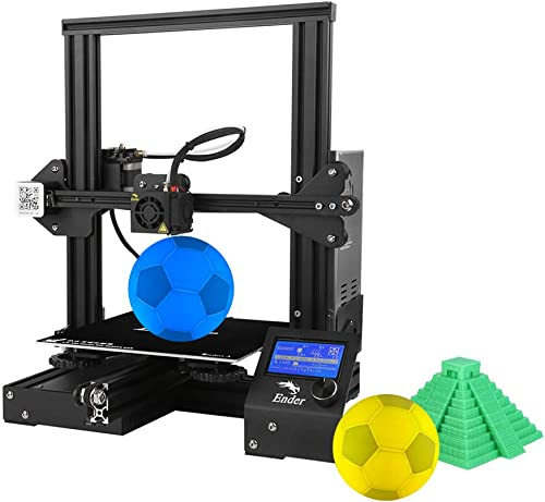 """Creality Ender 3 Pro 3D Printer 8.6"""" x 8.6"""" x 9.8"""" with Meanwell Power Supply and Removable Cmagnet Build Surface Plates"""