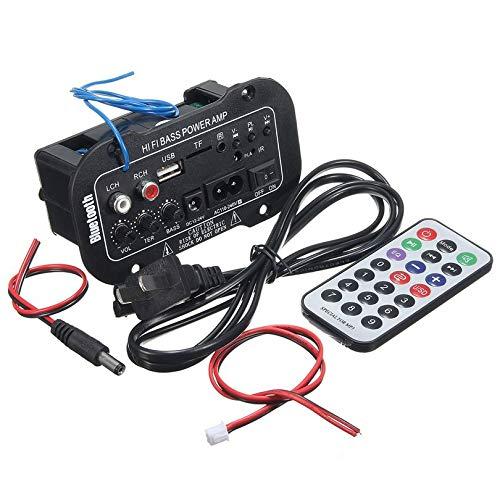 Multifonctionnel Amplificateur Bluetooth De Voiture HiFi Basse Puissance AMP Amplificateur Numérique Stéréo USB TF À Distance pour La Maison Accessoires