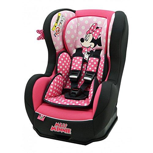 mycarsit asiento auto Disney, Grupo 0+/1(de 0a 18kg), diseño de Minnie