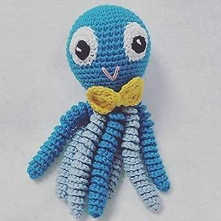 Pulpos hechos a crochethttps://amzn.to/399MItJ