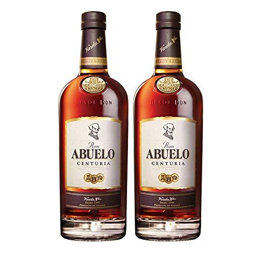 Ron Abuelo Centuria de 70 cl - Elaborado en Panama - Varela Hermanos S.A. (Pack de 2 botellas)