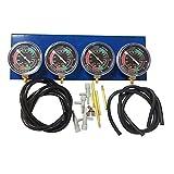 Sincronizzatore universale per carburatore sottovuoto per moto, bilanciatore di sincronizzazione, kit di calibrazione del carburatore, adatto per motori a 2,3,4 cilindri