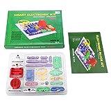 Peanutaso 335 Kit de Descubrimiento de electrónica Multicolor Kit de Bloque de electrónica Inteligente Kit de Ciencia educativa Juguete Los Mejores Juguetes de Bricolaje para niños - Multicolor