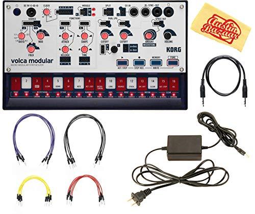 Find Bargain Korg Volca Modular Synthesizer Bundle with Power Supply and Austin Bazaar Polishing Clo...