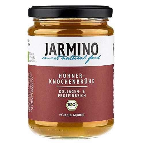 JARMINO Bone Broth (4x) | 100% biologische kip | rijk aan Collageen | Paleo & Ketogenic Diet geschikt | natuurlijk…