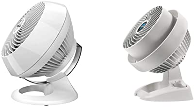 Vornado 560 Whole Room Air Circulator with 4 speeds, 560-Medium, White & 530 Compact Whole Room Air Circulator Fan, White
