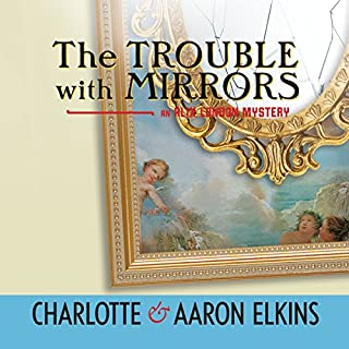 The Trouble with Mirrors audiobook cover art