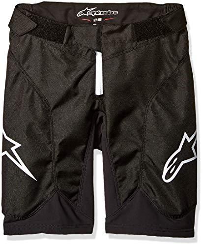 Alpinestars Youth Vector Shorts, Jungen, 1740818, schwarz/weiß, Size (24)
