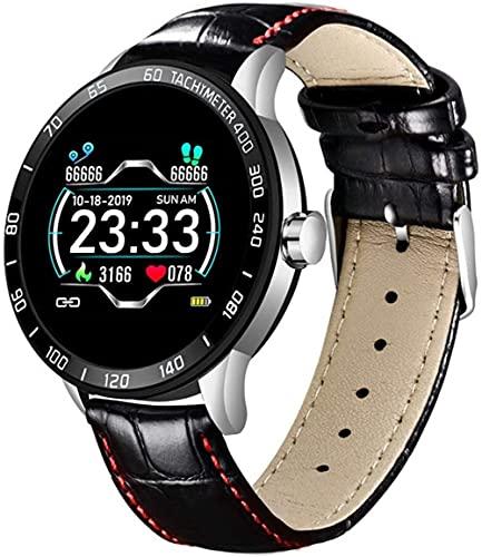 AMBM Reloj inteligente para hombre 4G 3G + 32G Dual Chip System Dual Camera impermeable para hombre s Sports Smart Watch Teléfono (Color: F)-C