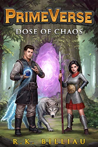 PrimeVerse: Dose of Chaos: A GameLit / LitRPG Adventure (English Edition)