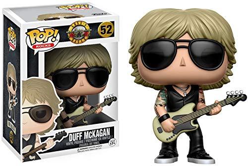 Pop Funko 52 Duff Mckagan Guns N Roses Funko Multicolorido Pequeno