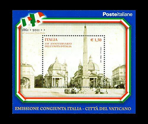 LaVecchiaScatola 2011 unità d'Italia - FOGLIETTO MNH/**