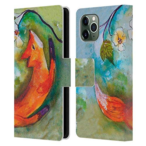 Head Case Designs Offizielle Wyanne Fuchs Tiere Leder Brieftaschen Handyhülle Hülle Huelle kompatibel mit Apple iPhone 11 Pro