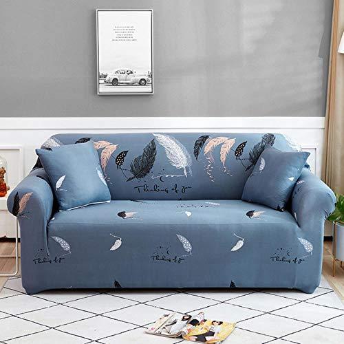Funda de sofá de algodón Funda de sofá elástica para sofá Toalla Protector de Silla Estampado Floral Funda de sofá para Sala de Estar Fundas