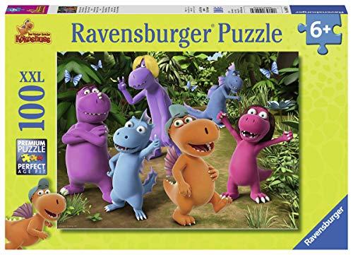 Ravensburger Kinderpuzzle 10407 - Neue Abenteuer mit Drache Kokosnuss - 100 Teile