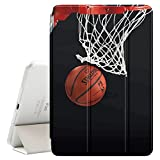 Graphic4You Basketball Sports Doughnut Ultra Slim Case Smart Cover Stand [with Sleep/Wake Function] for Apple iPad Mini 4