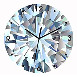 PRESTIGE Silent Wall Clock for Home Living Room Decor, Ultra Modern Non-Ticking Quartz Sweep Decorative Battery Operated Decorations For Bedroom, Office, Kitchen, Boats, Home Living Room