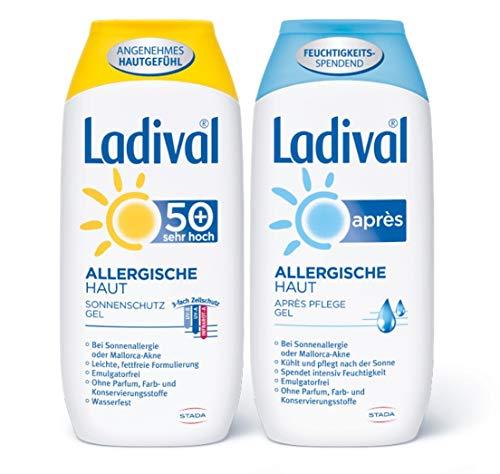 Ladival Allergische Haut Sonnenschutz 50+ PLUS Apres Sun - Sparset