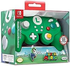 PDP Gaming Super Mario Bros Luigi GameCube Wired Fight Pad Controller: Luigi - Nintendo Switch